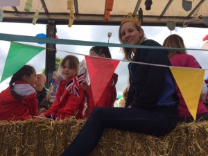 Rainbows take part in the Altrincham Festival