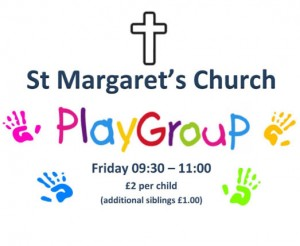 St Margaret's Mother & Toddler Group – Friday mornings