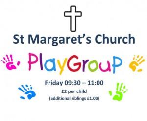 St Margaret's Mother & Toddler Group – Friday mornings