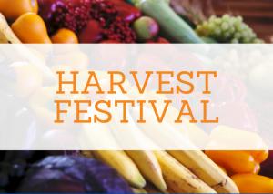 Harvest Festival on Sunday 4th October
