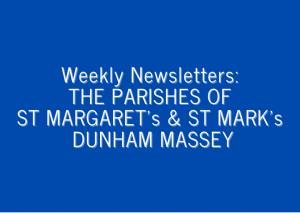 St Margaret's & St Mark's Prayer Sheets and Newsletter